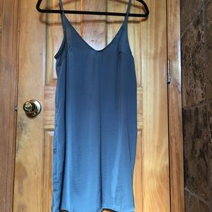Stone Grey slip dress